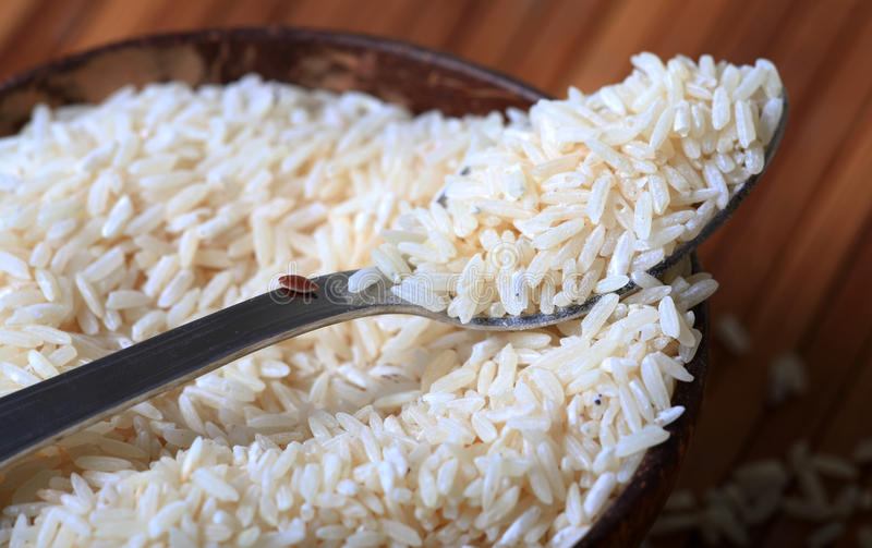 Basmati Rice Detail Stock Photography