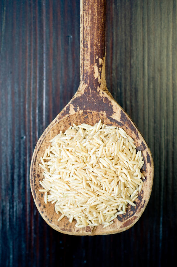 Basmati rijst royalty-vrije stock afbeeldingen