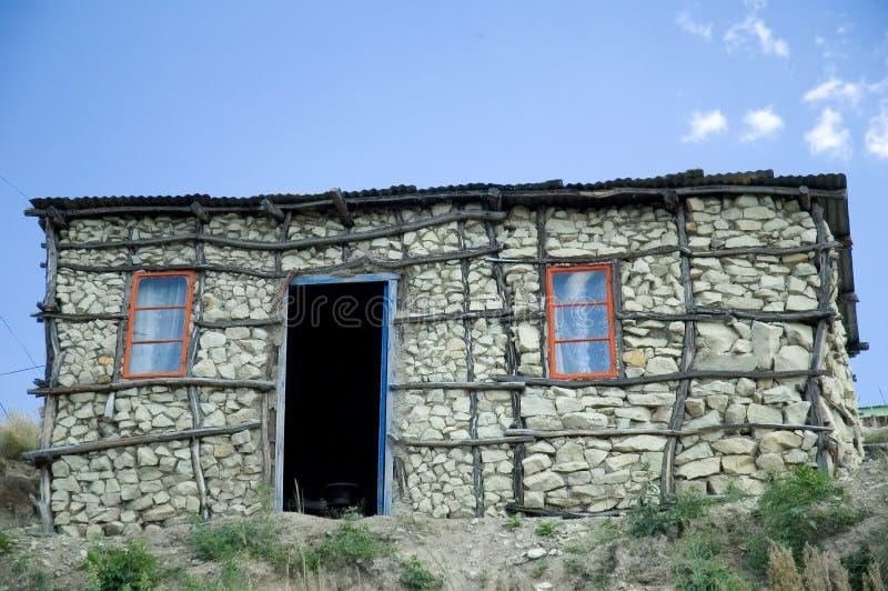 Basotho Hut 1 stock photo