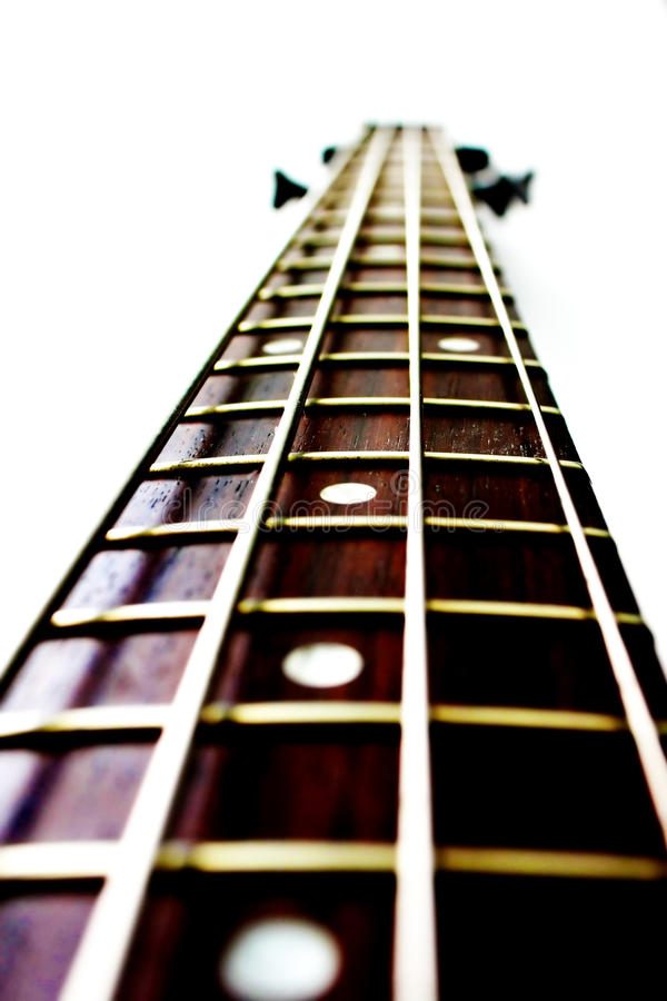 Download Basowej gitary szyja obraz stock. Obraz złożonej z muzyka - 13338999