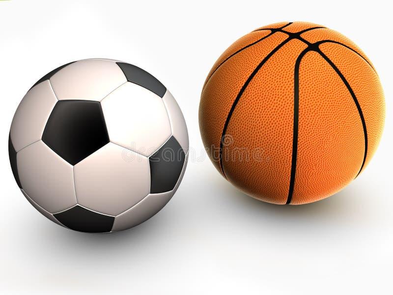 Basquetebol ilustração stock