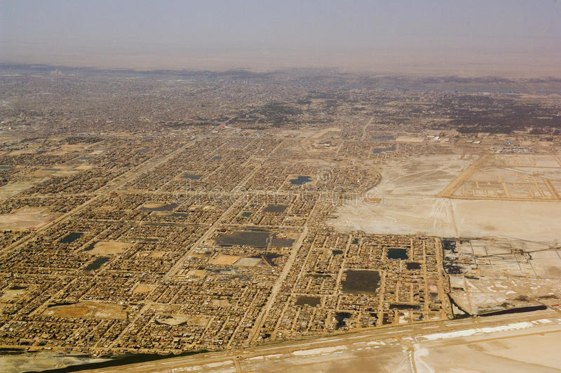 Basra Irak arkivbilder