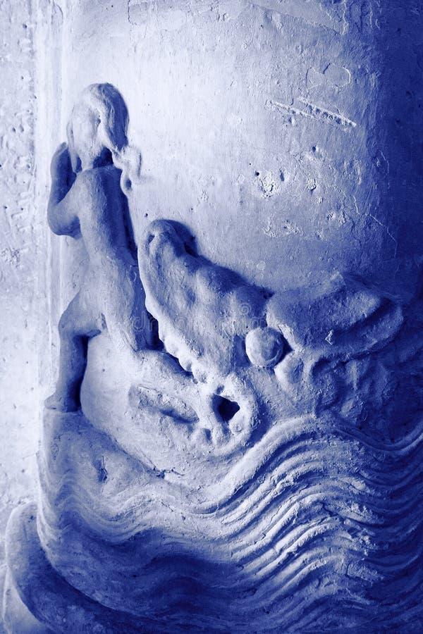 Basrelief royaltyfri foto