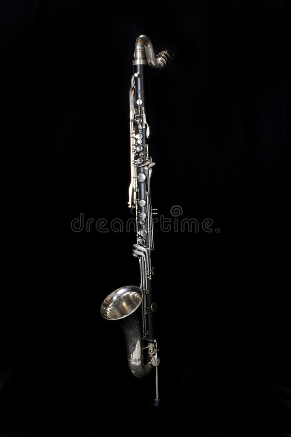 Free Bass Clarinet 002 Royalty Free Stock Image - 14454166