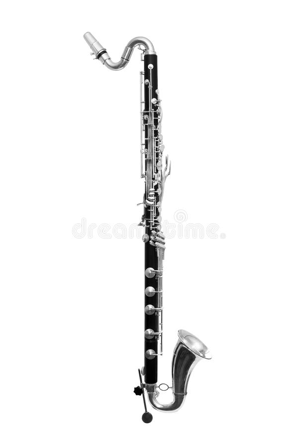 Bass Clarinet royalty free stock photos