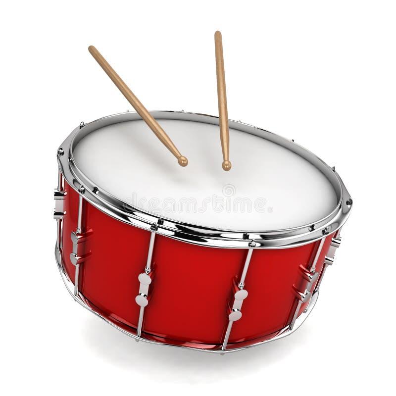 Bass Drum ilustração stock