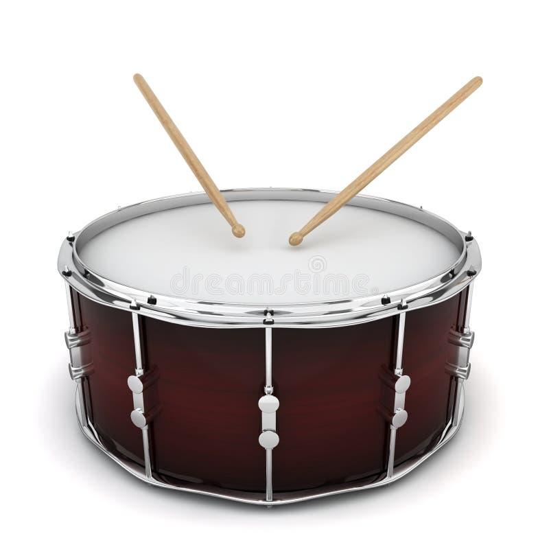 Bass drum stock illustration