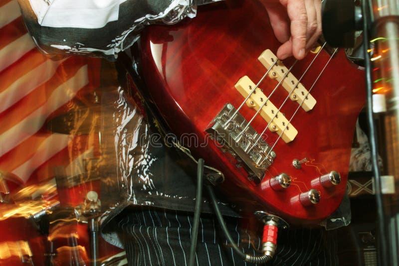 Bass-guitar stock image
