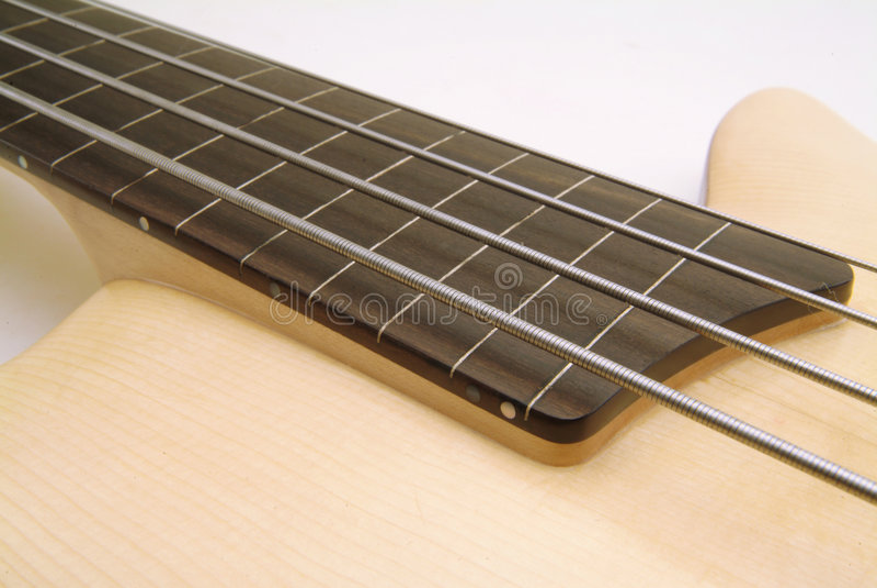 Bass guitar royalty free stock photo