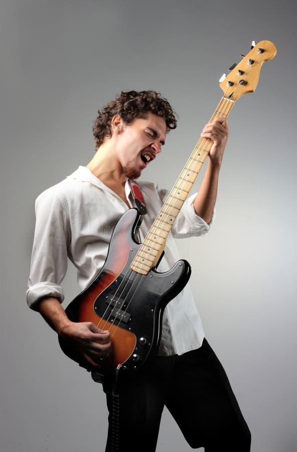 Download Bass guitar stock image. Image of bass, guitar, rock, song - 6580979