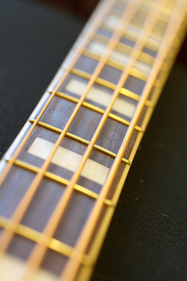 Download Bass Guitar Fretboard Royalty Free Stock Photography - Image: 21494637