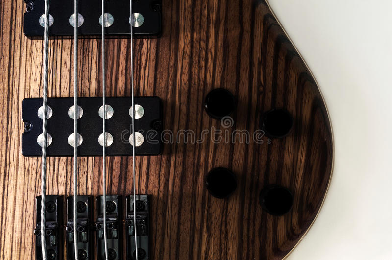 Heavy Bass Guitar royalty free stock photography
