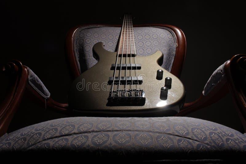 Bass Guitar I royaltyfri fotografi