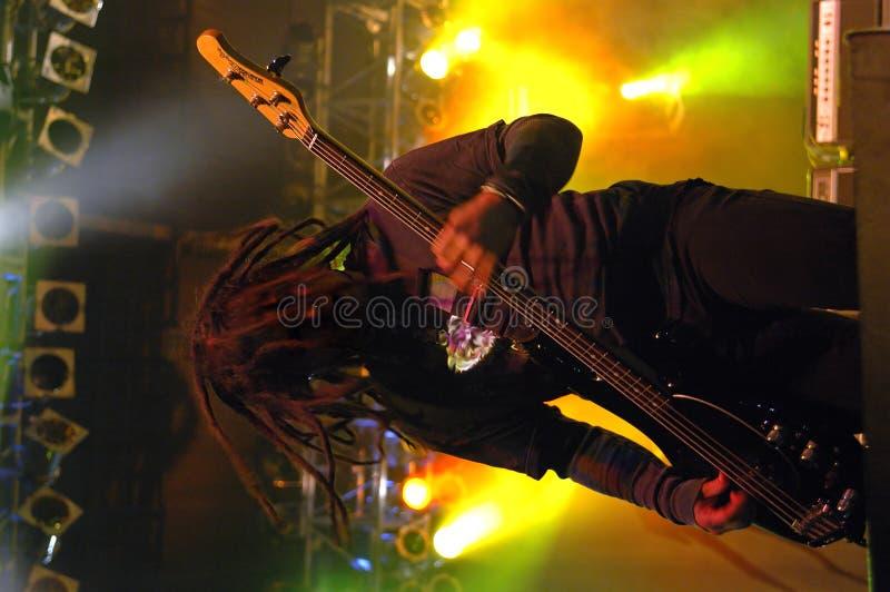 Bass Guitar Solo Stock Photos