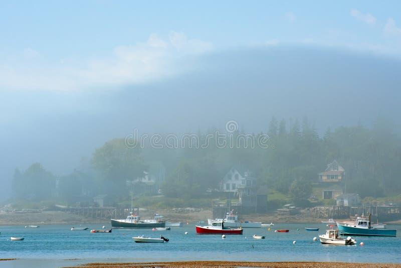 Download Bass Harbor stock image. Image of marina, seascape, popular - 19063233