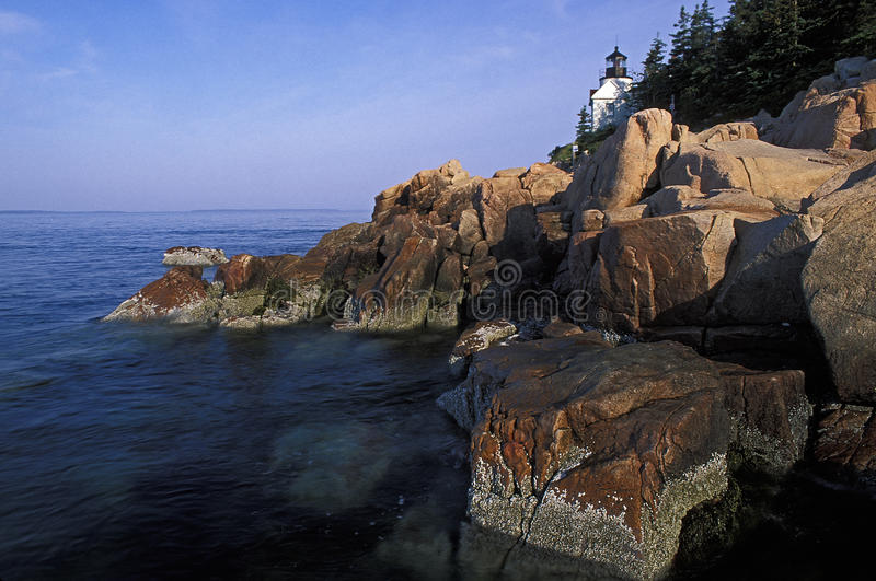 Bass Head Lighthouse stock photography