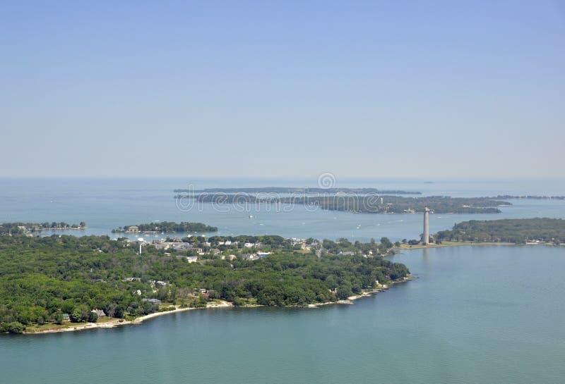 Bass Island, Ohio royalty-vrije stock afbeelding