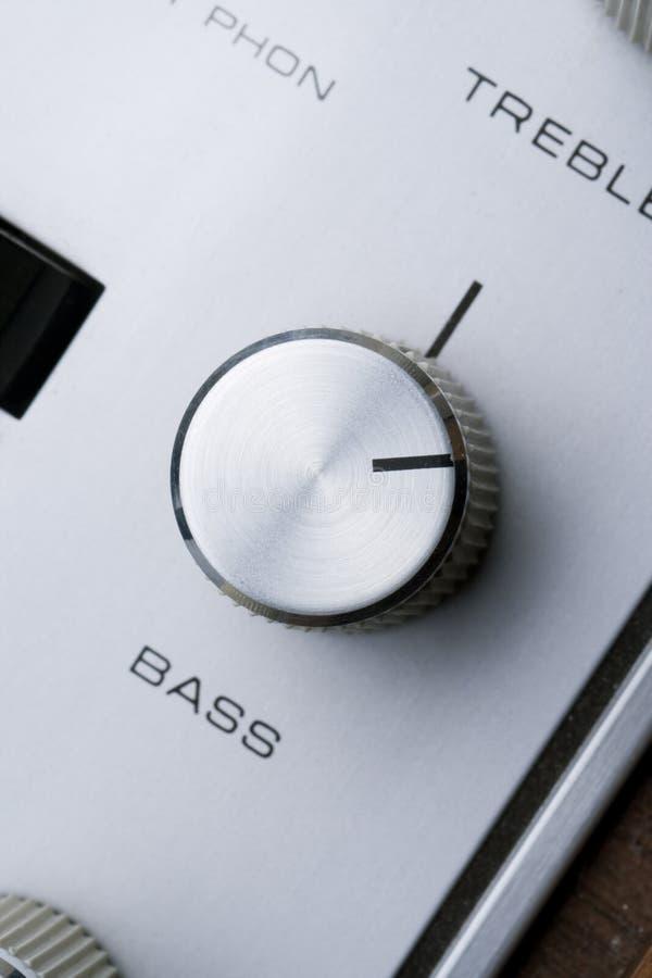 Bass Knob Stock Image