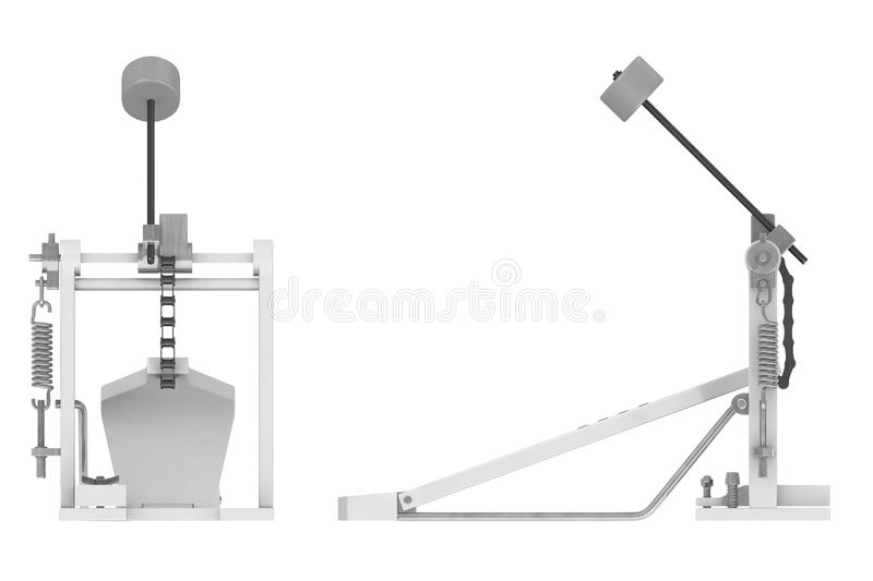 Bass Pedal For Drum Stock Images