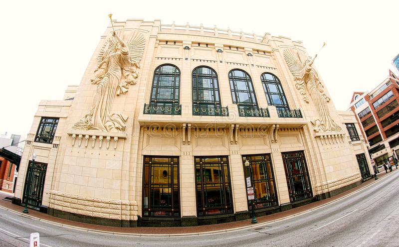 Bass Performance Hall, Fort Worth Texas fotos de stock