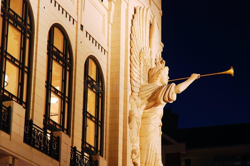 Bass Performing Arts Center, Ft di valore, il Texas immagine stock libera da diritti
