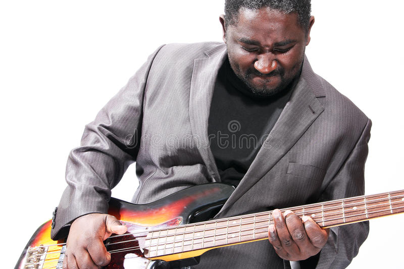 Download Bass player stock image. Image of happy, electric, metal - 26430379