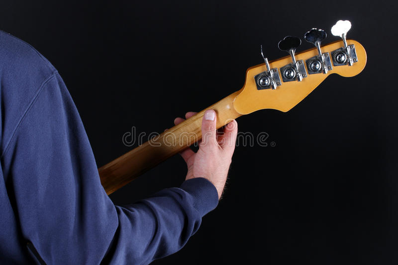 Download Bass player stock photo. Image of grunge, music, hands - 26934410