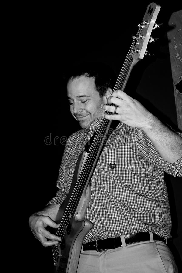 Free Bass Player Stock Photography - 71193862