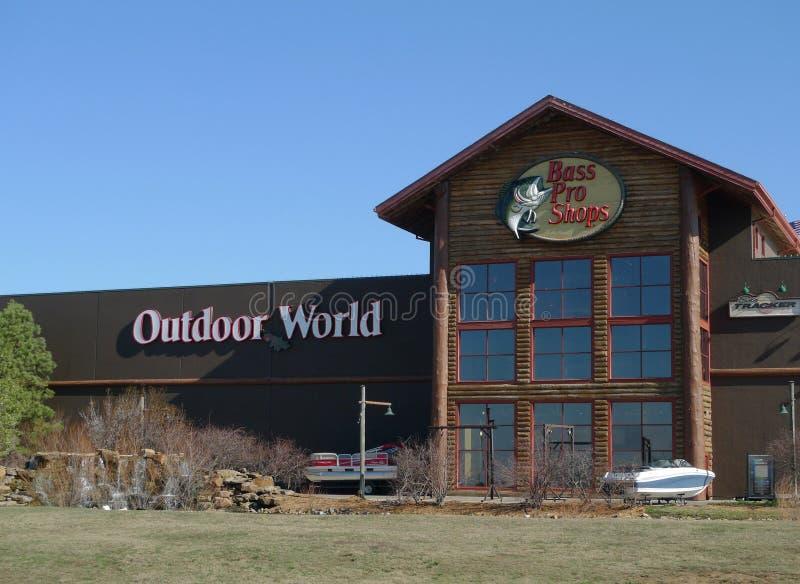 Bass Pro Shops Outdoor World, Tulsa, Oklahoma imagen de archivo libre de regalías