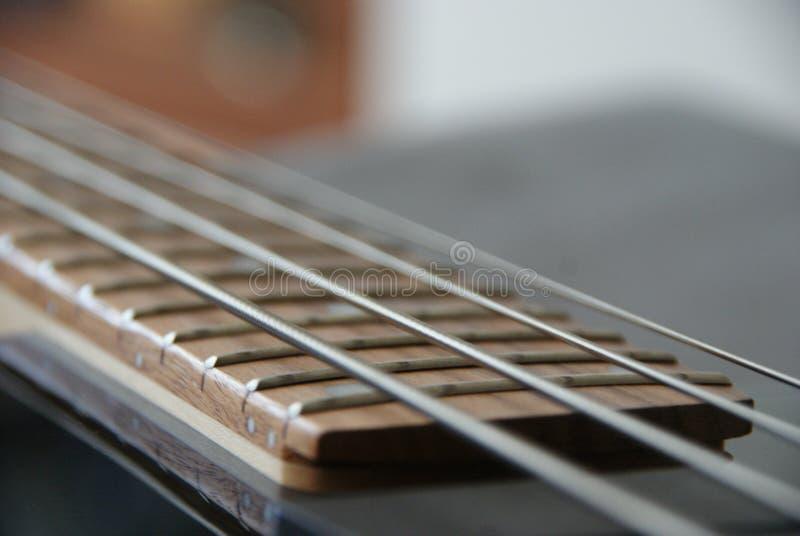 Bass Strings photo libre de droits