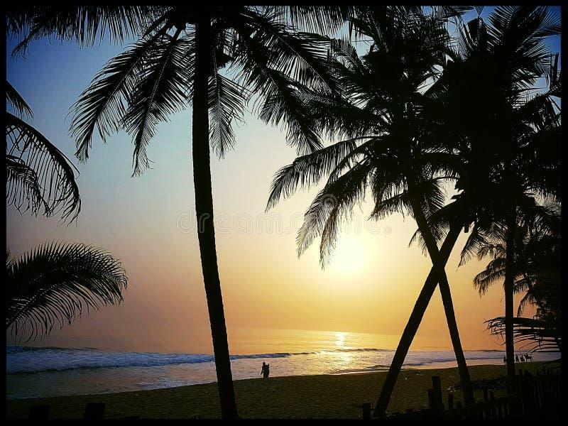 Bassam Beach ivory coast stock image