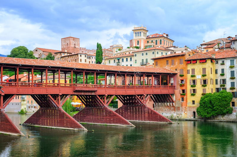Bassano del grappa veneto italy stock photo image of for Arredamenti bassano del grappa