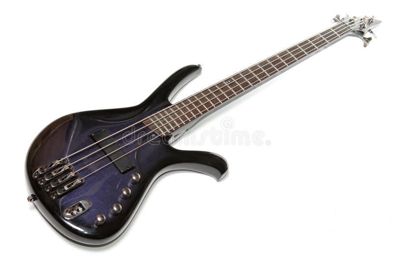 Basse-guitare électrique images libres de droits