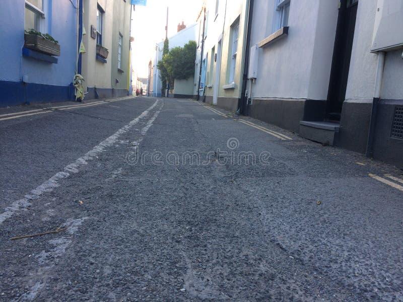 Basse vue de rue photo libre de droits