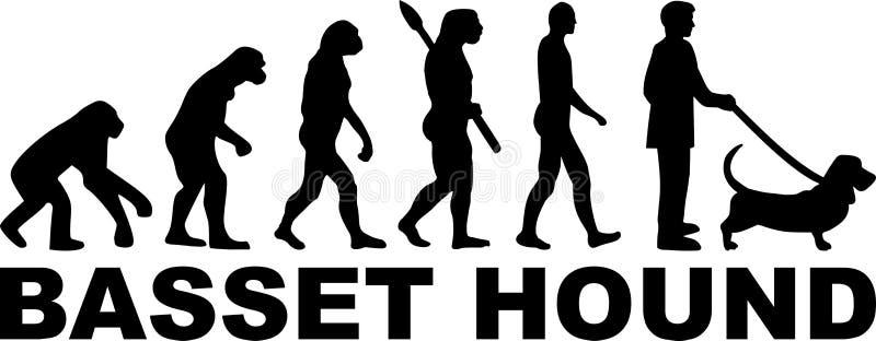 Download Basset Het Woord Van De Hondenevolutie Vector Illustratie - Illustratie bestaande uit geïsoleerd, evolueer: 114226746