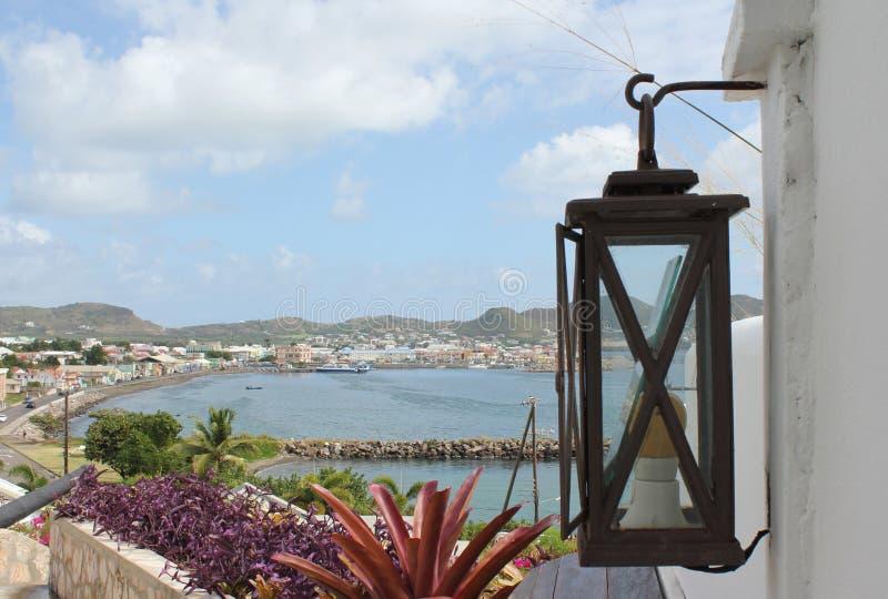 Basseterre, st San Cristobal fotografie stock