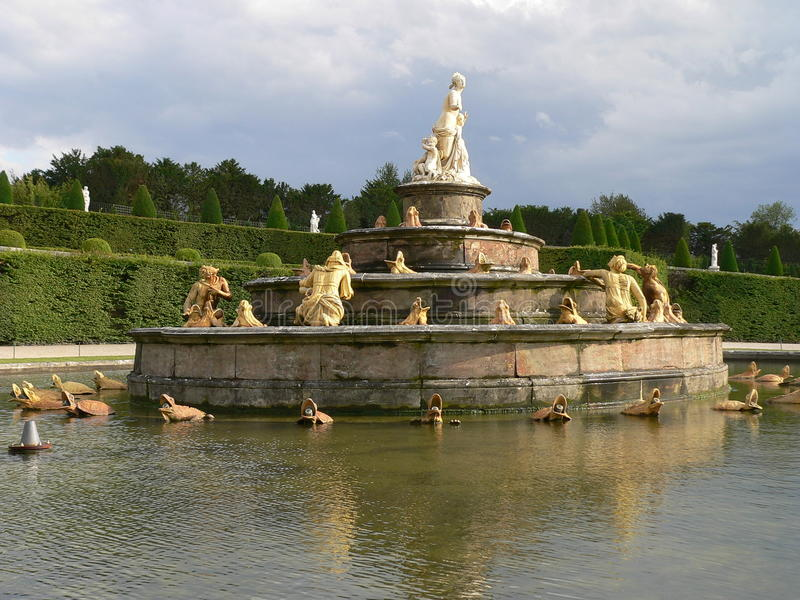 Bassin De Latone, Versailles ( France ) Royalty Free Stock Photography