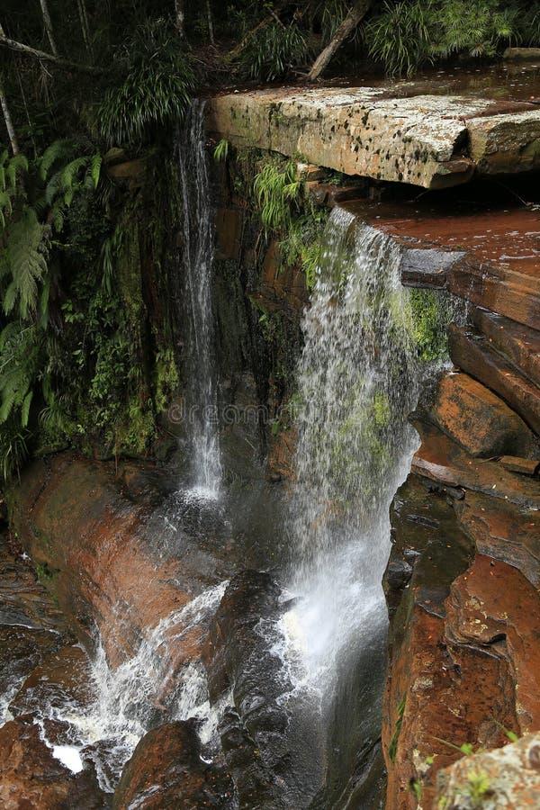 Bassin de maliu de cascade de Giluk photos stock