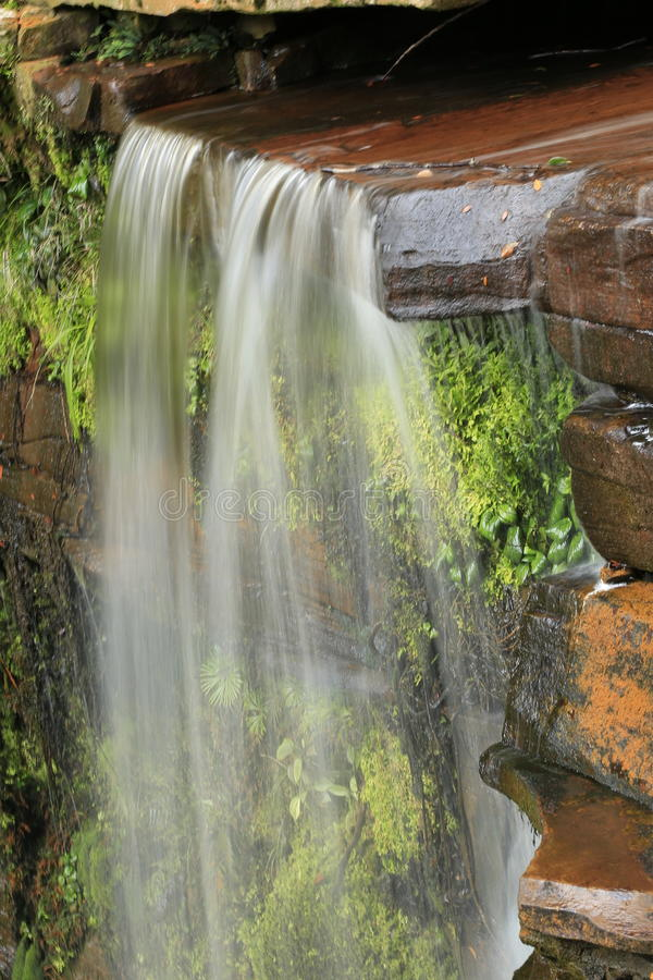 Bassin de maliu de cascade de Giluk photo stock