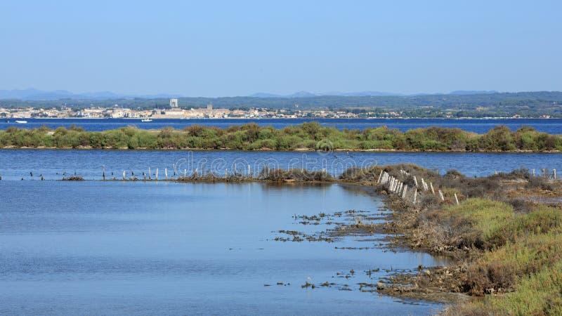 Bassin de Thau imagens de stock
