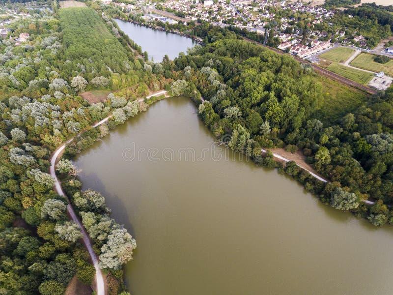 Bassin de Trevoix 免版税图库摄影