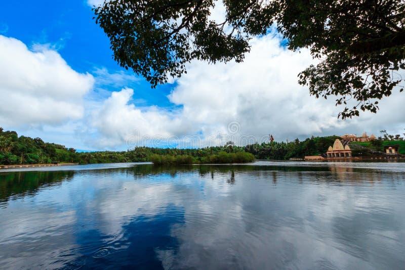Bassin jezioro obrazy royalty free
