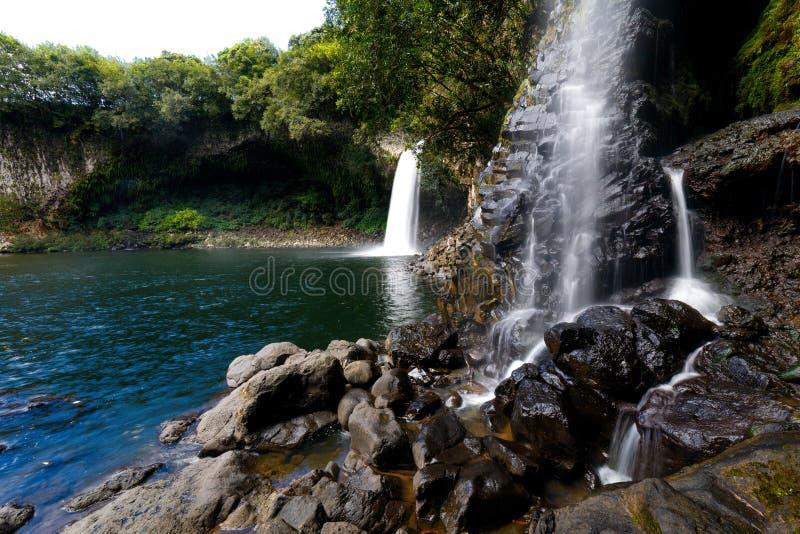 Bassin La Paix Reunion Island fotografering för bildbyråer