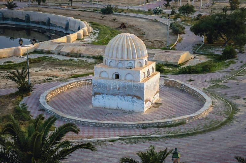 Bassins d'Aghlabid dans Kairouan photo libre de droits