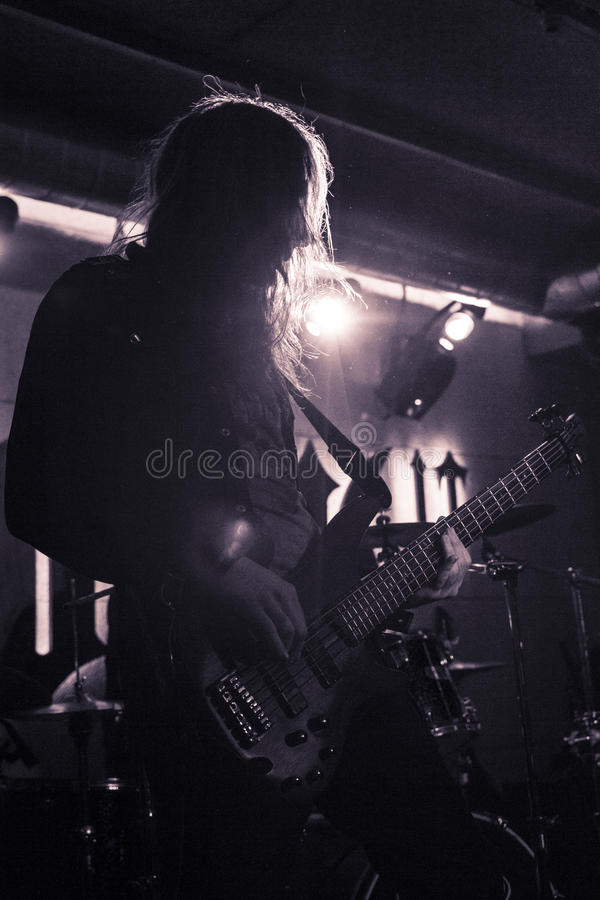 Download The Bassist editorial image. Image of formless, death - 39505450
