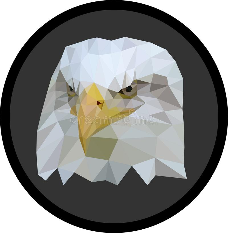 Basso poli Eagle immagini stock
