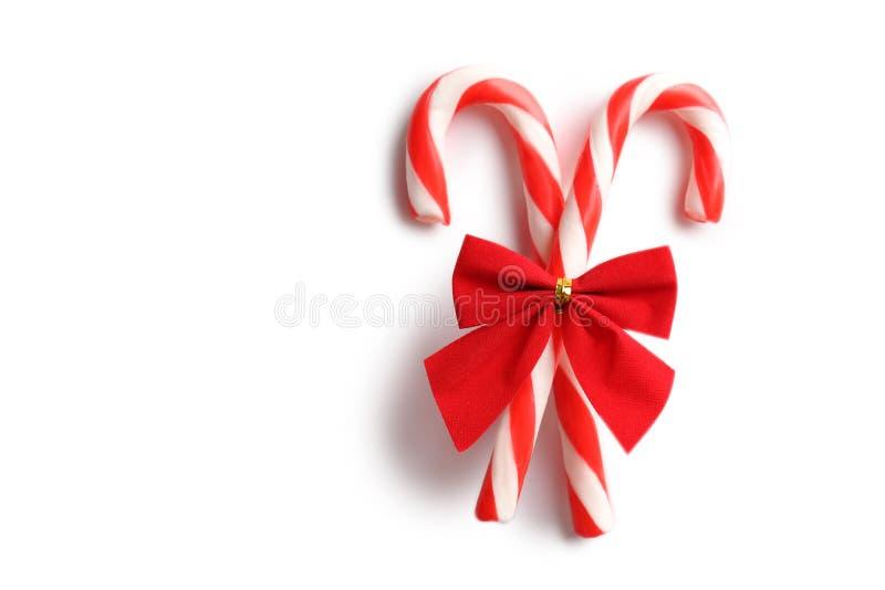 Bastão de doces do Natal fotografia de stock