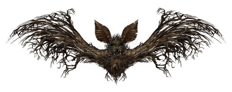 Bastão de Ghost ilustração do vetor