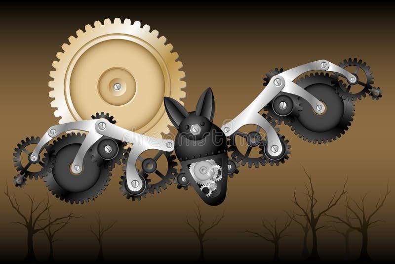 Download Bastão do robô ilustração do vetor. Ilustração de estanho - 26501135