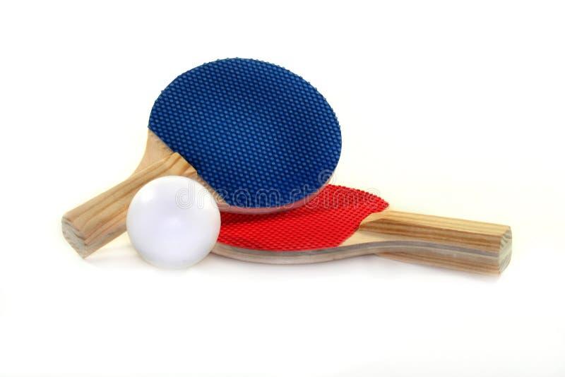Bastão do tênis de tabela fotografia de stock